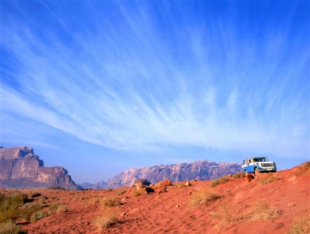 Петра и пустыня Вади…