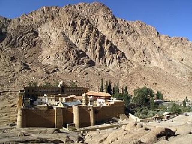 Гора Синай и монастырь…