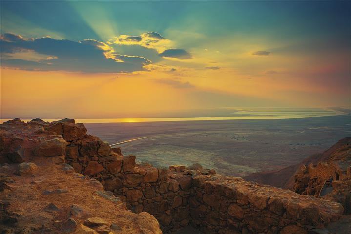 Крепость Масада и Мертвое…